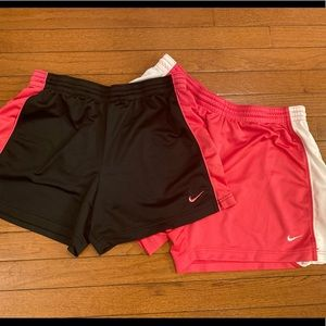 Nike Athletic Shorts Sz.Med (pink pair is sold)